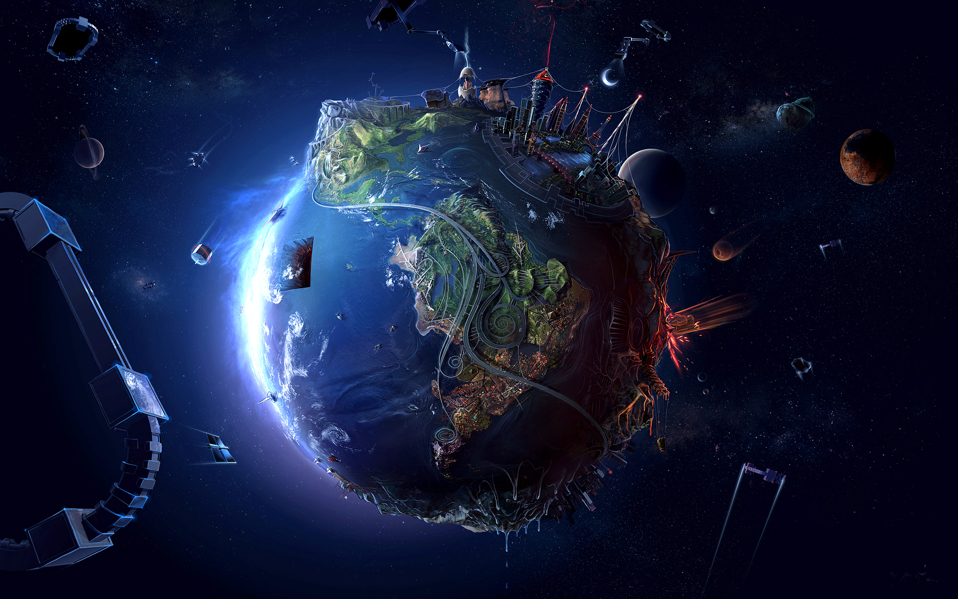 gatloc universe